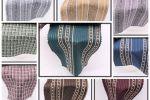 Vải kate họa tiết (KT13943) - Nhiều màu sắc - Khổ 1.2 mét