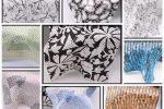 Vải kate họa tiết (KT13945) - Nhiều màu sắc - Khổ 1.2 mét