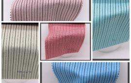 Vải kate sọc (KT13949) - Nhiều màu sắc - Khổ 1.2 mét