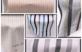 Vải kate sọc (KT13951) - Nhiều màu sắc - Khổ 1.2 mét