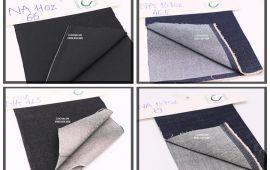 Vải jeans nam (J15102) - 10.5oz đến 14.6oz - Khổ 1.48 đến 1.6 mét