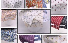 Vải kate họa tiết (KT13954) - Nhiều màu sắc - Khổ 1.2 mét