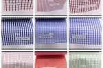 Vải kate sọc caro (KT13955) - Nhiều màu sắc - Khổ 1.6 mét
