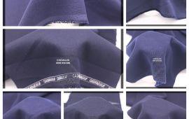 Vải quần tây/váy học sinh (QT16201) - Màu xanh, xanh đen - Khổ 1.6 mét