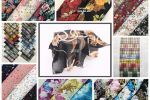 Vải voan bông (V16904) - Nhiều màu sắc - Khổ 1.45/1.5m