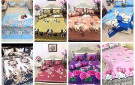 Vải drap gối nệm (PL16302) - Nhiều màu sắc - Khổ 2.3 mét