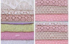 Vải ren (R19601) - Nhiều màu sắc - Khổ 1.5/1.6 mét