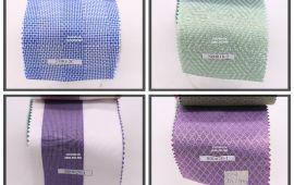 Vải kate sọc (KT13957) - Nhiều màu sắc - Khổ tầm 1.2/1.6 mét