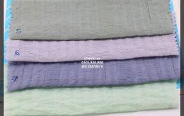 Vải xốp màu (XM19616) - nhiều màu sắc - khổ tầm 1.5/1.6 mét