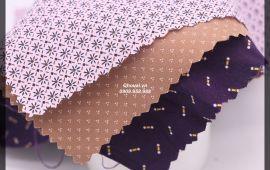 Vải Kate Họa Tiết (KT19639) - Nhiều màu sắc - Khổ tầm 1.5 mét