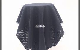 Vải Mè Stock (M12132) - màu đen - khổ tầm 1.6 mét