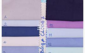 Vải si bóng (SB19628) -nhiều màu sắc - khổ tầm 1.5 mét