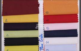 Vải bóng thun giãn (BTG19613) - nhiều màu sắc - khổ tầm 1.5 mét