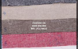 Vải Jean Cào Lông (JCL19622) - nhiều màu sắc - khổ tầm 1.5/1.6m