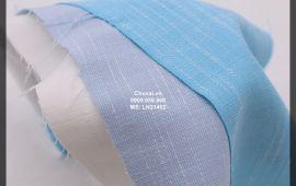 Vải linen gân (LN21402) - nhiều màu sắc - khổ tầm 1.5 mét
