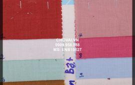 Vải linen bột (LNB19627) - nhiều màu sắc - khổ tầm 1.5/1.6 mét