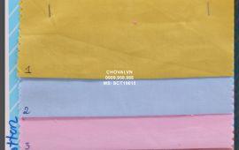 Vải si cotton (SCT19615) - nhiều màu sắc - khổ tầm 1.5 mét