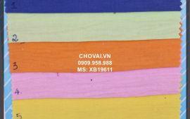 Vải Xô Bột (XB19611) - nhiều màu sắc - khổ tầm 1.5/1.6 mét