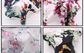 Vải Lụa Bông Stock (L14901) - nhiều màu sắc - khổ tầm 1.5m/1.6m