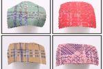 Vải Poly 2 Da Họa Tiết (PL22003) - nhiều màu sắc - khổ tầm 1.5 mét