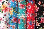 Vải Lụa Bông Chính Phẩm (L16903) - nhiều màu sắc - khổ tầm 1.5m/1.6m