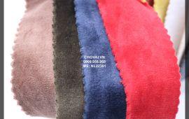 Vải Nỉ Lông (NL22301) - nhiều màu sắc - khổ tầm 1.7 mét