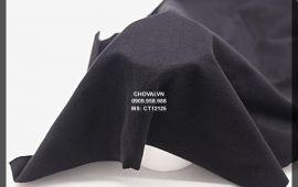 Vải Cotton đen dày (CT12125) - đen - khổ tầm 1.5 mét