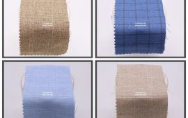 Vải Linen (LN22001) - nhiều màu sắc - khổ tầm 1.5 mét