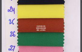 Vải Lạnh Korea (L21003) - nhiều màu sắc - khổ tầm 1.6 mét