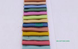 Vải Cotton Chéo